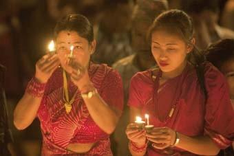FIESTA DE KRISHNA JAYANTI (VALLE DE KATMANDU, NEPAL)