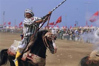 MOUSSEM MOULAY ABDALLAH FESTIVAL ECUESTRE (EL JADIDA, MARRUECO)S)